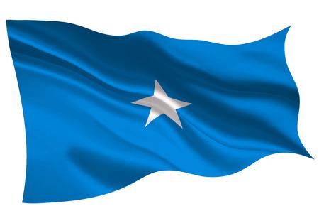 Somalia national flag flag icon