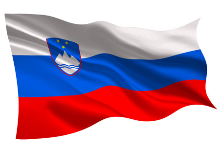 Slovenia national flag flag icon