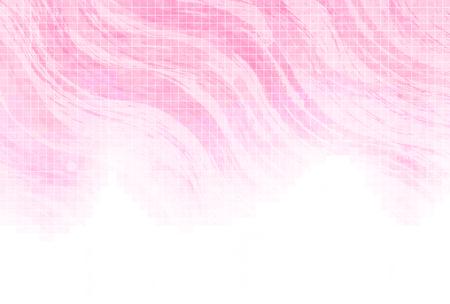 春のピンクの和紙の背景