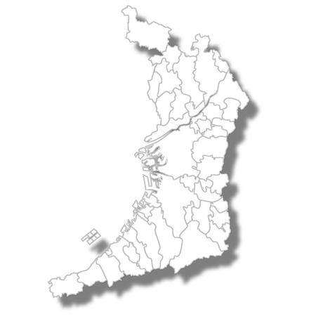 오사카지도 백색 아이콘