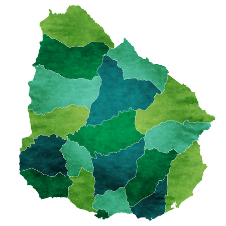 Uruguay World map country icon