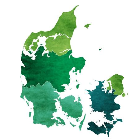 덴마크 세계지도 국가 아이콘