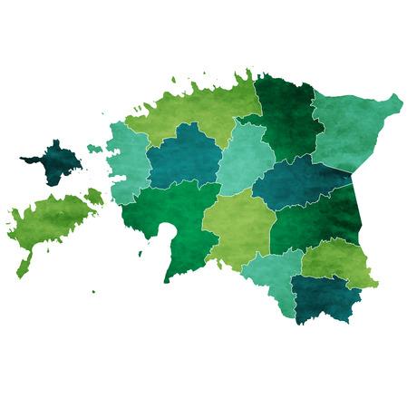 エストニア 世界地図国アイコン