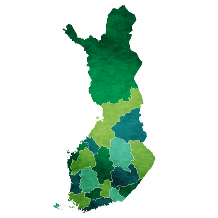 Finland World map country icon
