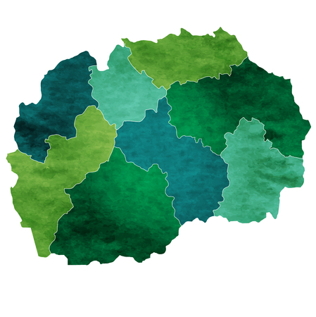 Macedonia World map country icon