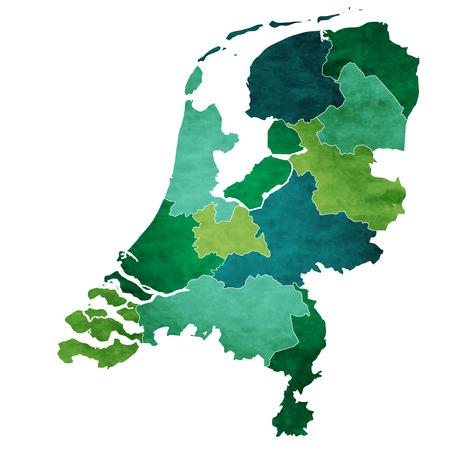 Netherlands World map country icon Illustration