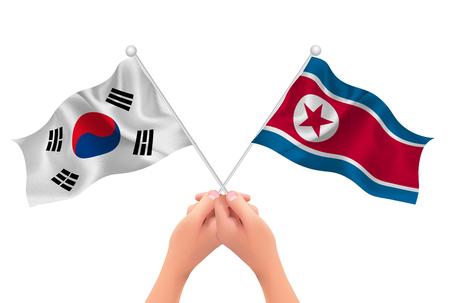 Korea North Korea national flag icon