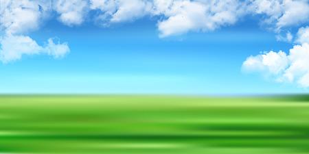 Sky cloud landscape background Illustration