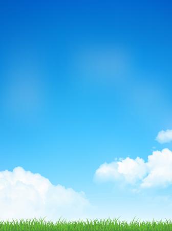 Sky Prairie landscape background