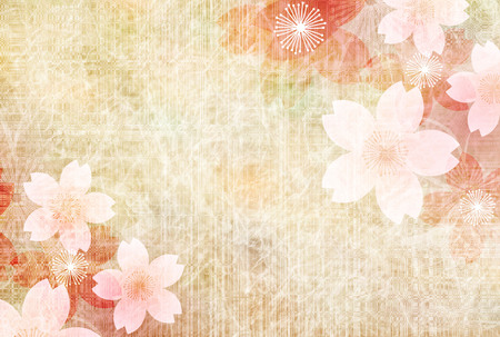 Cherry blossoms spring flower background illustration. Фото со стока - 95969140
