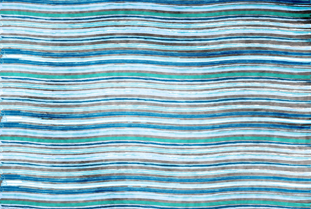 Ocean wave summer background with horizontal lines