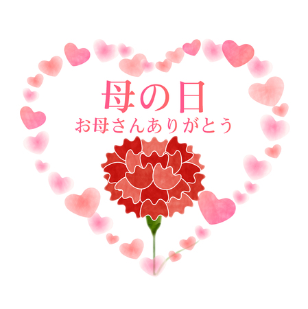 Carnation Mothers Day Flower Icon