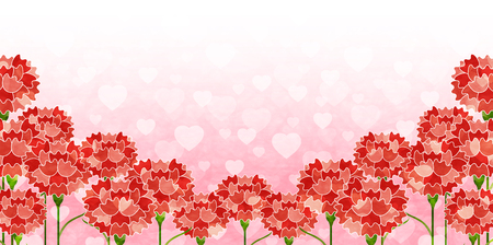 Carnation Mother's Day Flower background