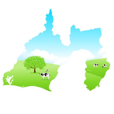 Shizuoka Cattle Map Ranch