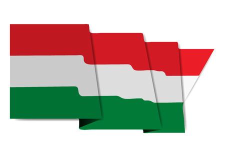 Hungary national flag World Icon