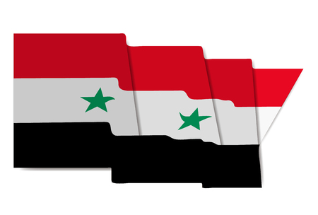 Syria national flag World Icon