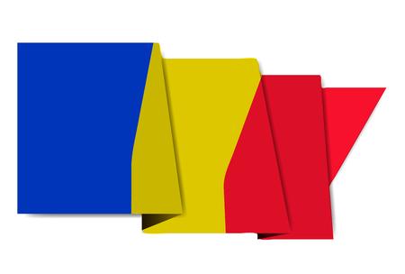 Roemenië nationale vlag wereld pictogram