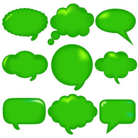 Callout green frame icon