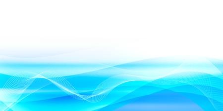 Sea summer Japanese paper background Ilustração