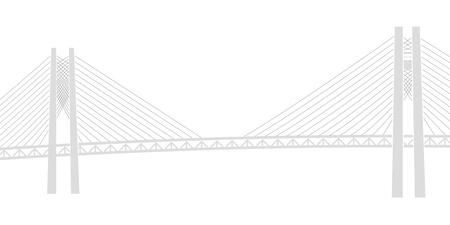 Bay Bridge Bridge Yokohama Background Çizim