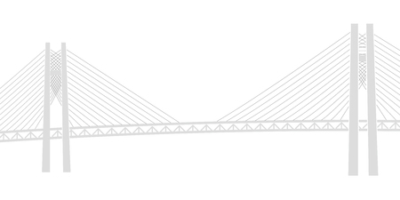 Bay Bridge Bridge Yokohama Background Illustration