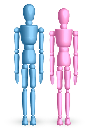 Doll Person robot icon