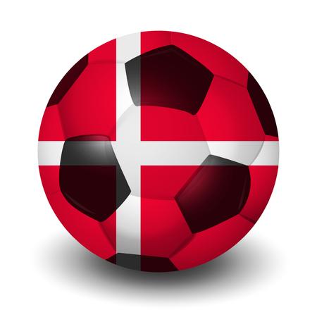 Danish football country icon