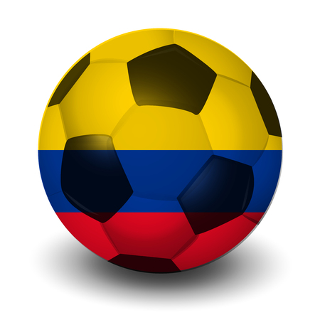 Colombia football country icon