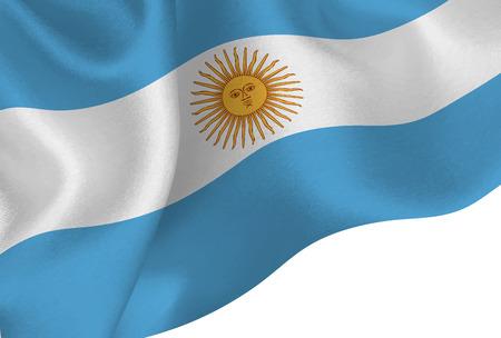 Argentina national flag background