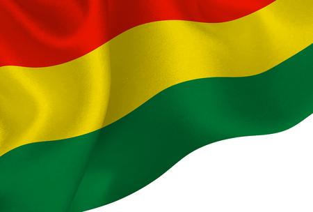 Bolivia national flag background