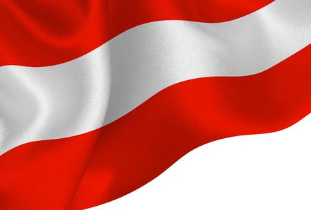 Austria national flag background  イラスト・ベクター素材