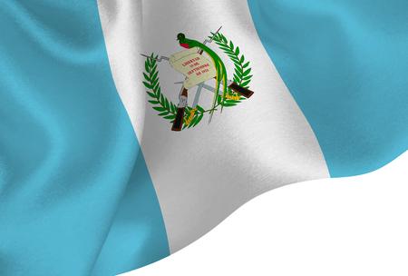 guatemala national flag background Illustration