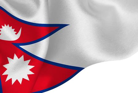 Nepal national flag background