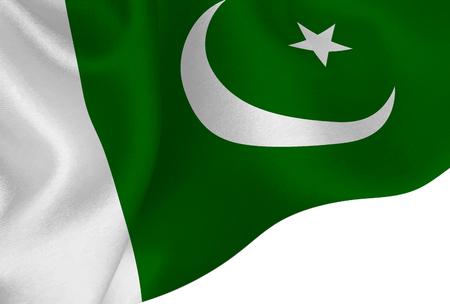 Pakistan national flag background