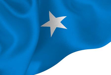 Somalia national flag background