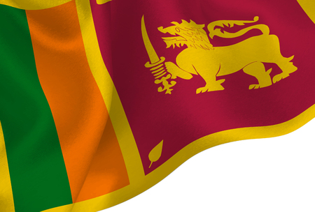 Sri Lanka national flag background