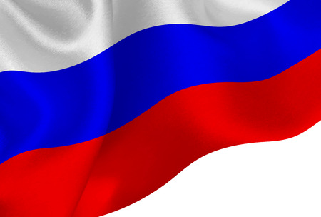 Russia national flag background