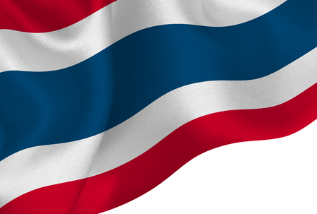 Thailand national flag background