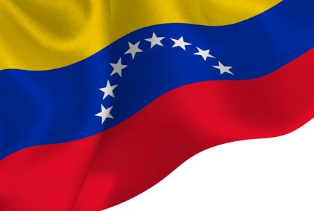 Venezuela national flag background