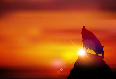 sunrise greeting card background