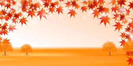 Autumn leaves autumn background