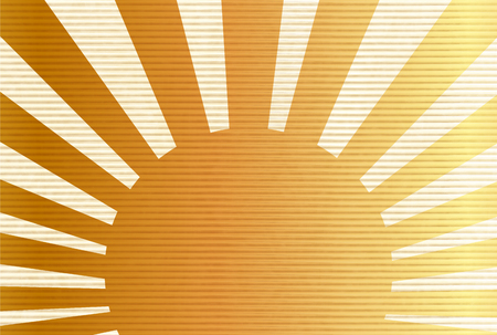 Japanese paper sunrise New Year's card background 版權商用圖片 - 112301389