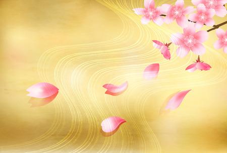 Cherry Blossom Spring flower background