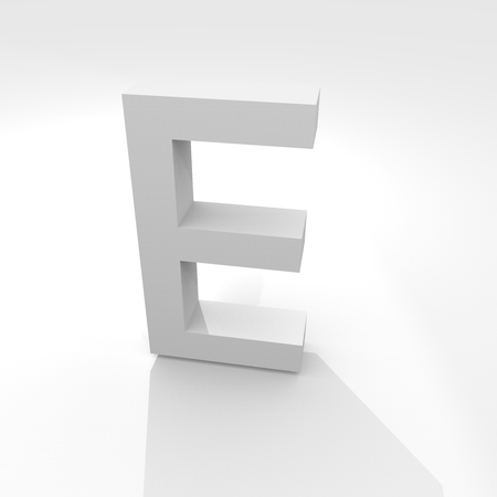 Alphabet Character Three-dimensional icon