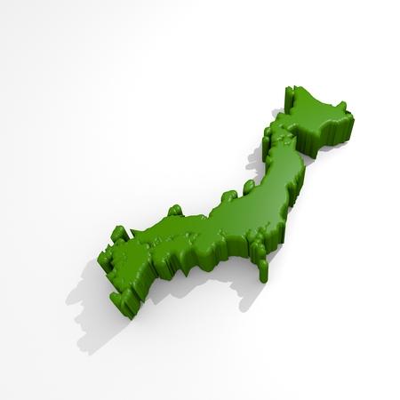 Japan Map Japan icon