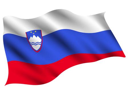 Slovenia Country flag icon Çizim