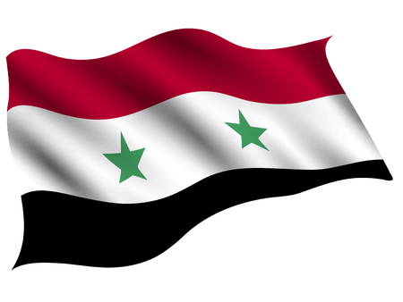 Syria Country flag icon Illustration