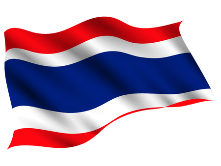 Thailand Country flag icon Illustration