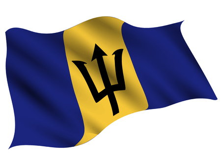 Barbados Country flag icon Stock Vector - 116942810