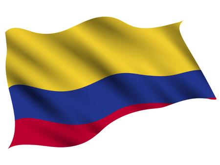 Columbia Country flag icon 스톡 콘텐츠 - 116942815